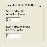 Model Options form - Assignment tab - Biasing factors