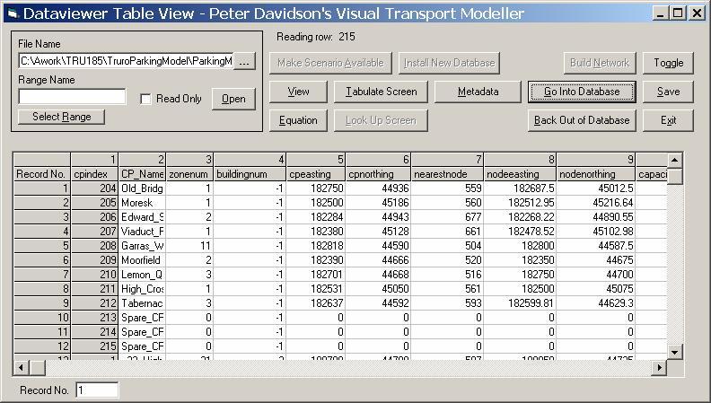 Visual Tm Tutorials Parking Models